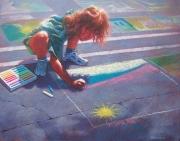 Budding Street Artist