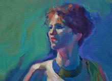 Woman In Green